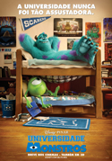 Universidade Monstros (Monsters University, 2013, EUA) [Crítica]