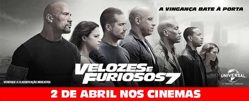Velozes E Furios 7 2 De Abril Nos Cinemas Um Tigre No Cinema